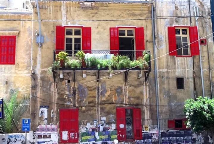 وقفة في راس بيروت: لا لهدم «البيت الأحمر»