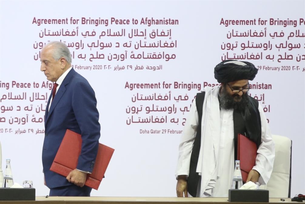 أفغانستان | واشنطن تستهدف «طالبان»: عملية السلام تترنّح
