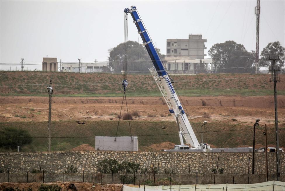 بدء عمليات بناء الجدار الحدودي: مصر تكمل الطوق حول غزة