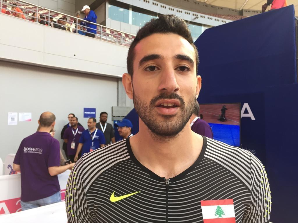 سيكون العدّاء حديد ممثل لبنان في أمّ الألعاب (ويب)