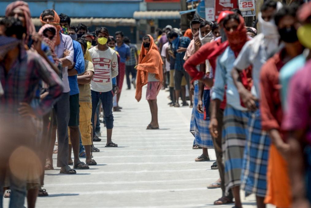الهند في انتظار انفجار الوباء: الإصابات قد تصل إلى 500 مليون!