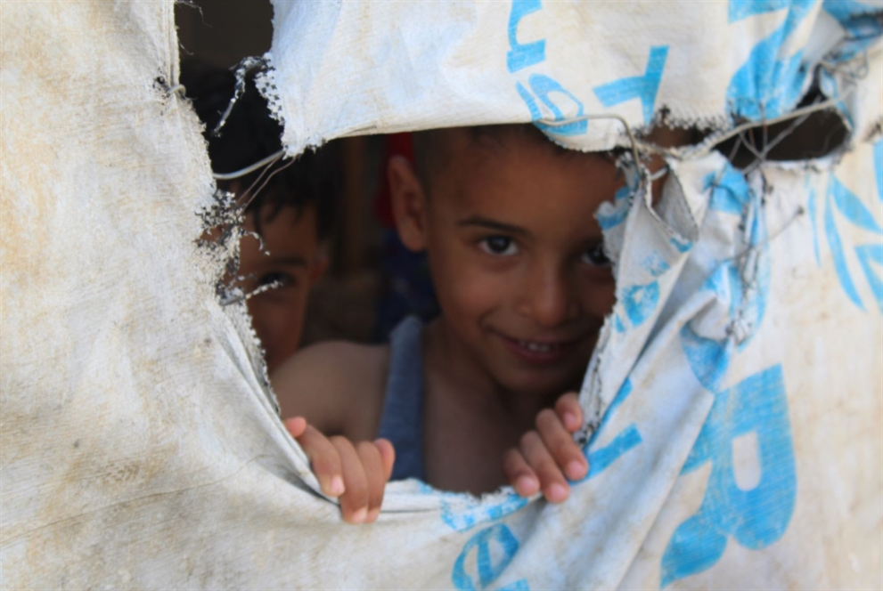 هدى قساطلي اللاجئون في صورة