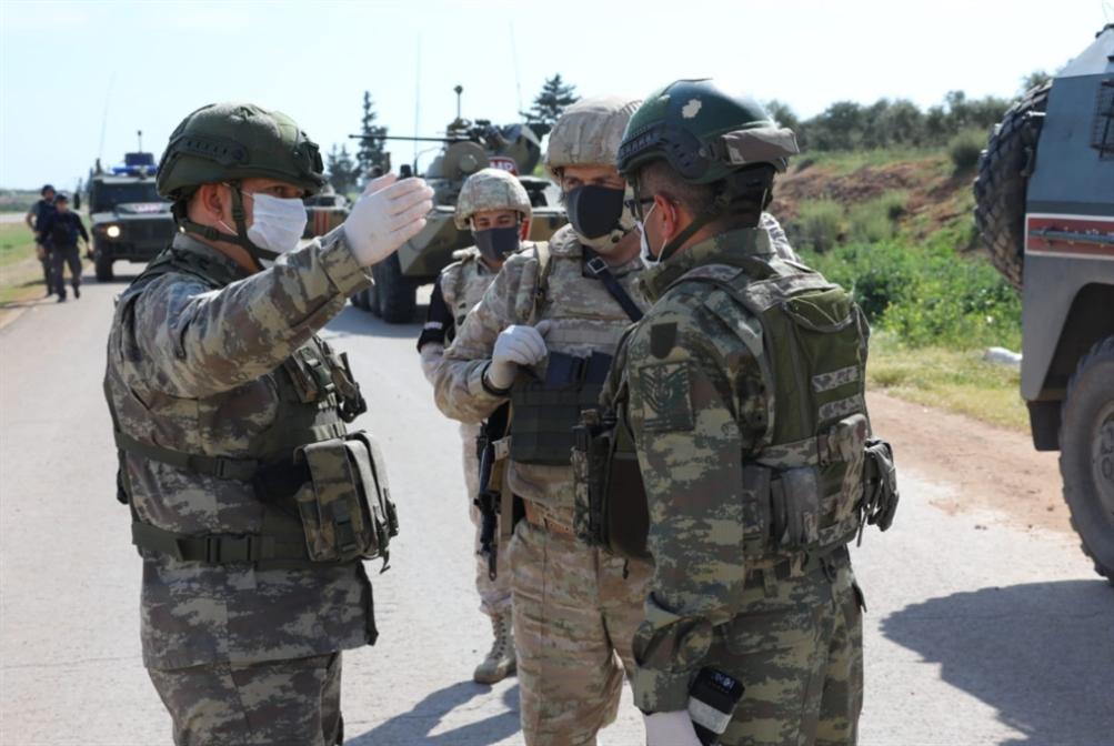 دورية مشتركة رابعة «مختصرة»: «كورونا» يدعم وقف إطلاق النار