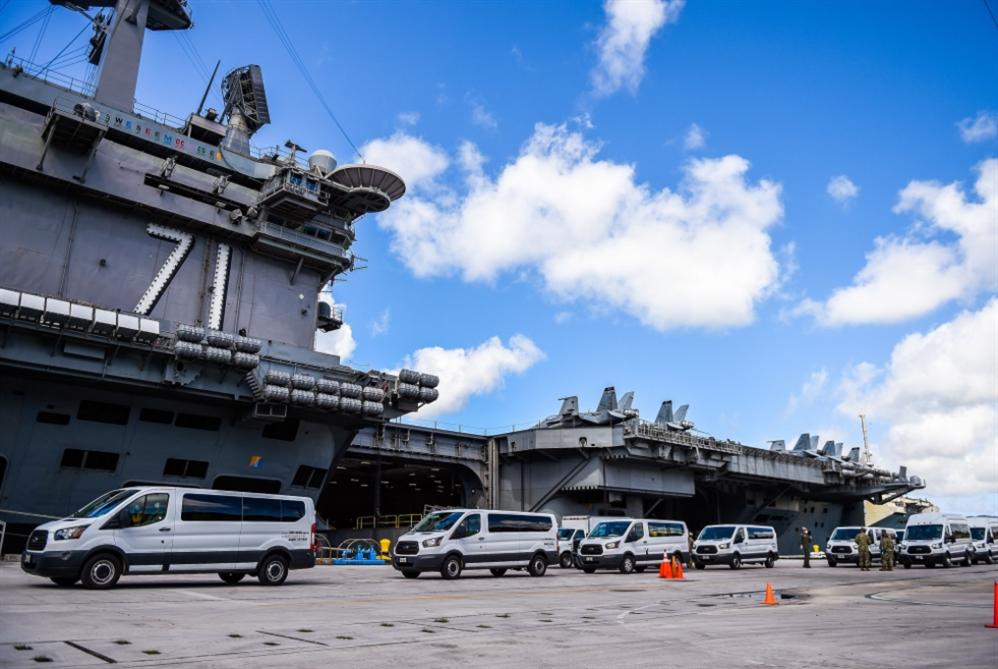البحرية تطالب البنتاغون بإعادة كروزر لقيادة «تيودور روزفلت»