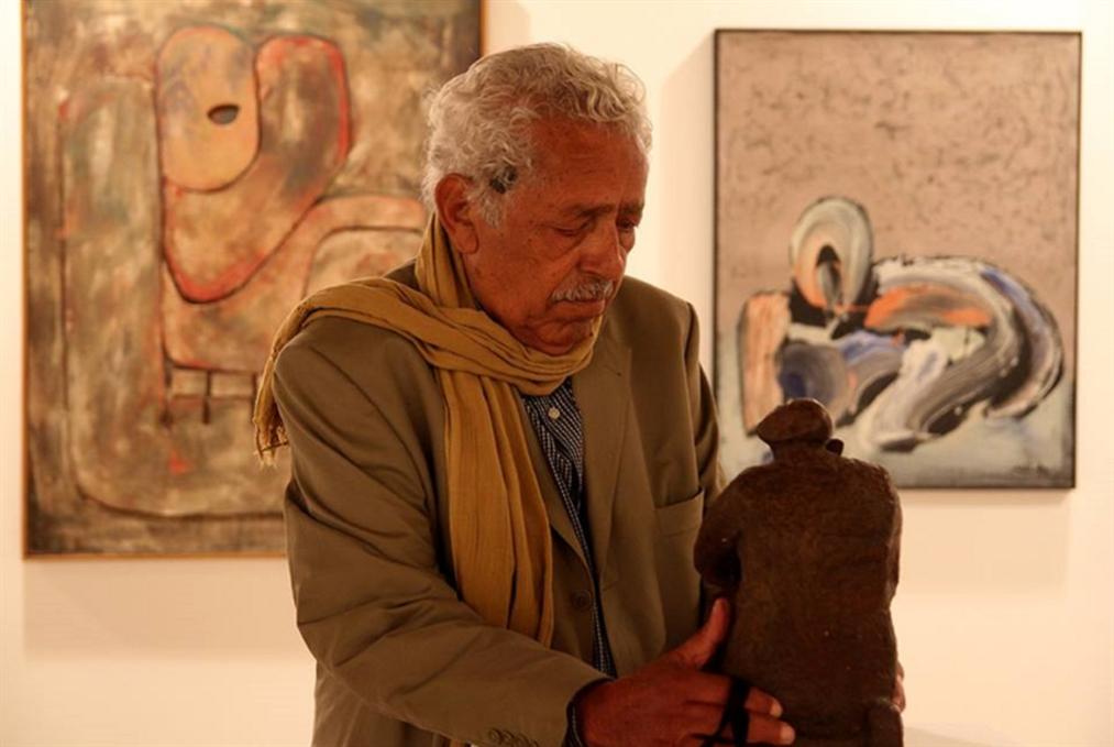 آدم حنين «الوثني» المتصوّف: وريث الفراعنة وأحد أهم نحّاتي مصر المعاصرين