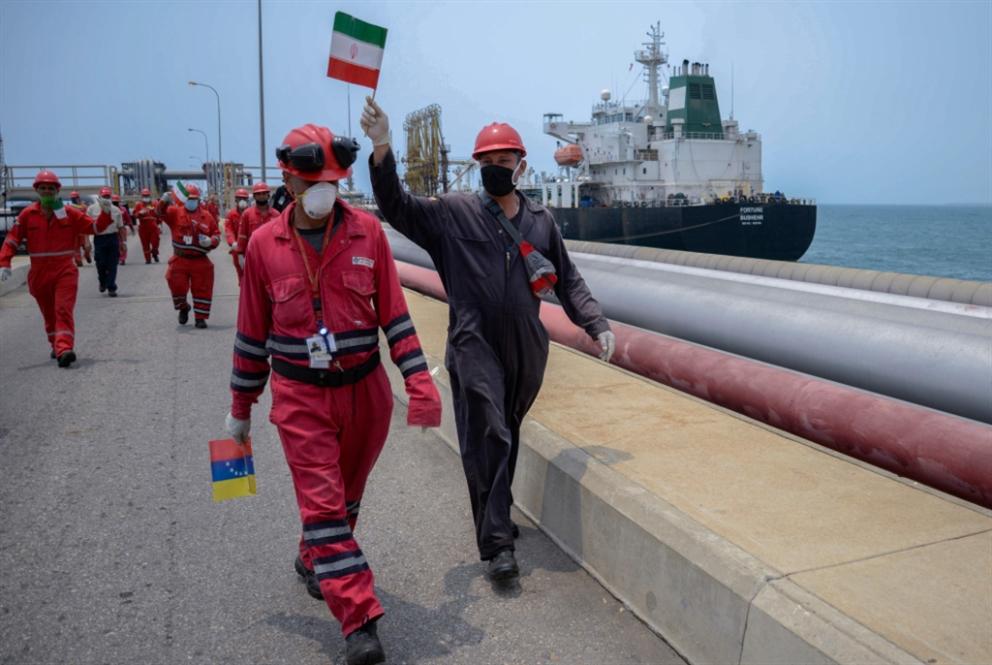 الناقلة الإيرانية الثانية على أعتاب موانئ فنزويلا