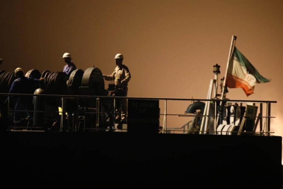 الناقلة الإيرانية الرابعة وصلت إلى مياه فنزويلا