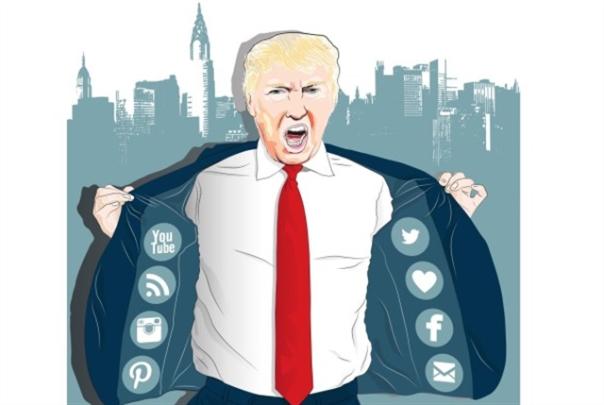 ولعانة بين ترامب ومواقع التواصل