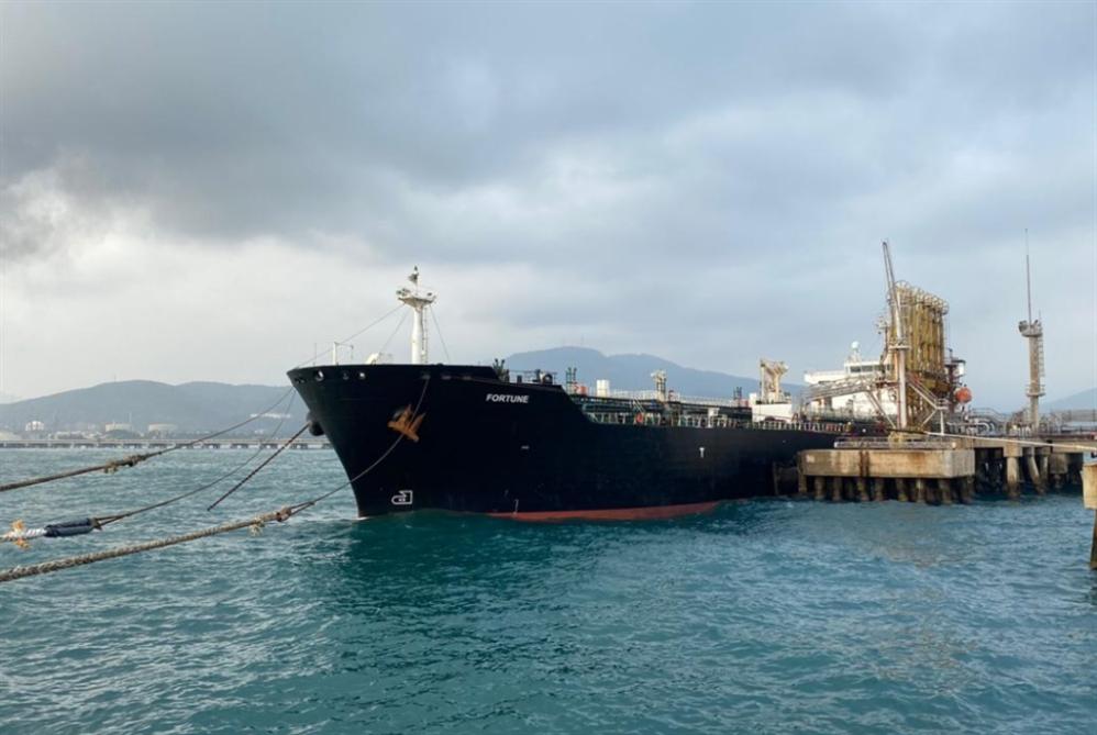وصول الناقلة الإيرانية الرابعة إلى مياه فنزويلا