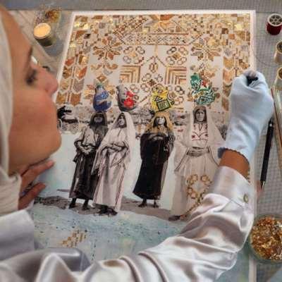 دانا برقاوي: تاريخ فلسطين بالذهب!