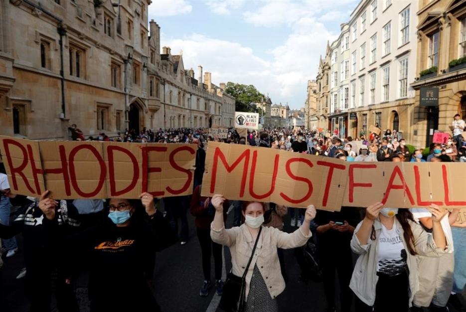 الضغط مستمرّ لإزالة تمثال سيسيل رودز من «أوكسفورد»