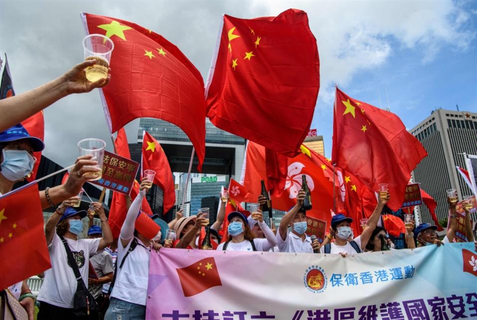 الصين تصادق على قانون الأمن القوميّ في هونغ كونغ
