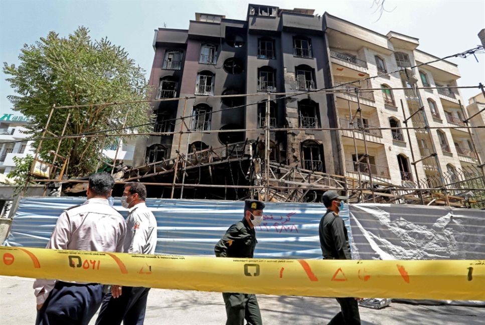 الشرطة تحقّق في انفجار طهران... وعودة صادرات الغاز إلى تركيا