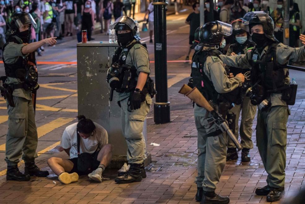 اعتقال أوّل مخالف لقانون «هونغ كونغ» الصيني الجديد