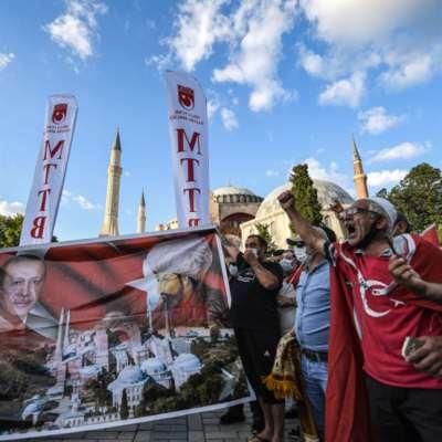 رسائل «الفتح الثاني»: آيا صوفيا بوابة إردوغان إلى «العالميّة»