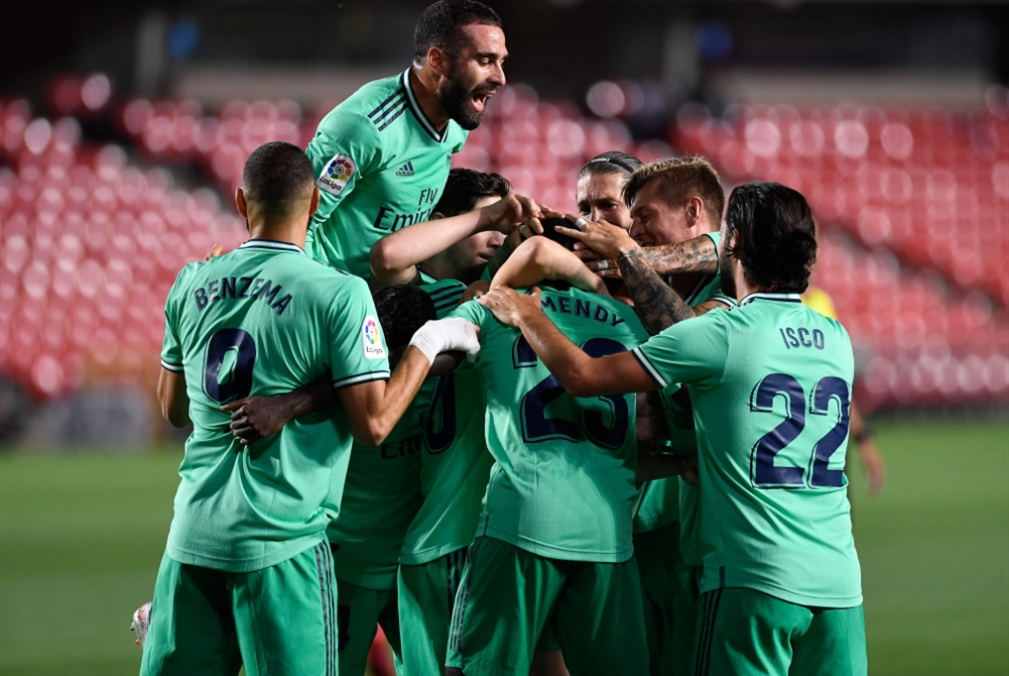 تسعة انتصارات متتالية... اللقب يقترب من مدريد