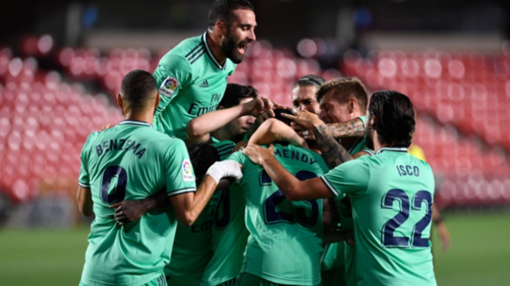 صورة تسعة انتصارات متتالية... اللقب يقترب من مدريد