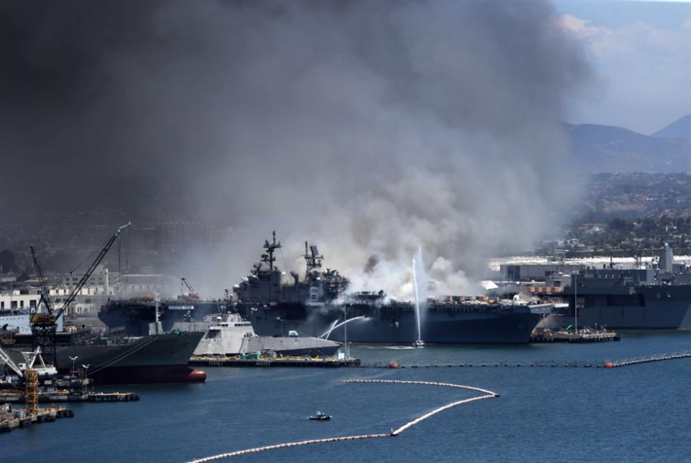 قاآني للأميركيين: نيران سفينة سان دييغو «نتيجة عملكم»
