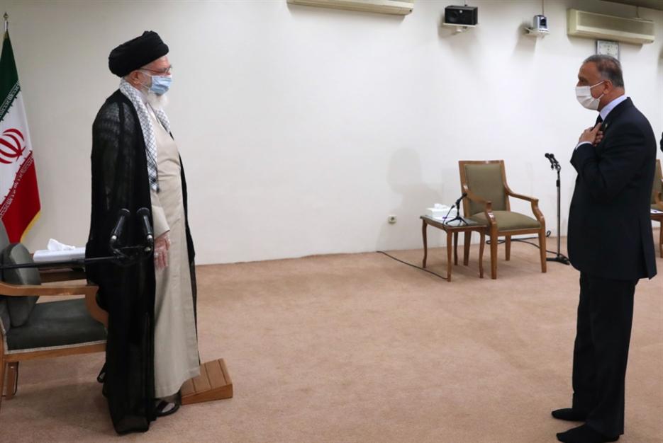 الكاظمي في طهران: الدعوات إلى طرد الاحتلال الأميركيّ تتزايد