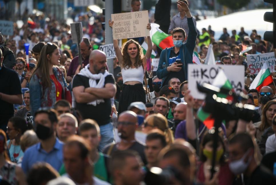 تظاهرات بلغاريا مستمرّة... بوريسوف: لا أموال أوروبية إن استقلت