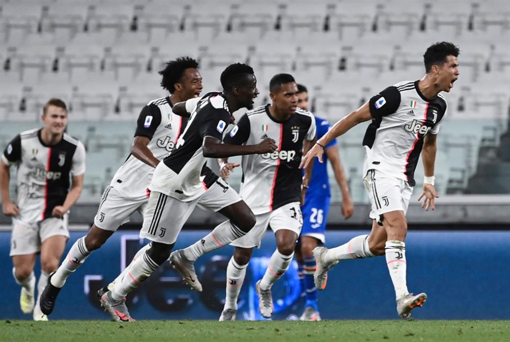 رونالدو يهدي لقب الدوري الإيطالي  للمتضرّرين من كورونا