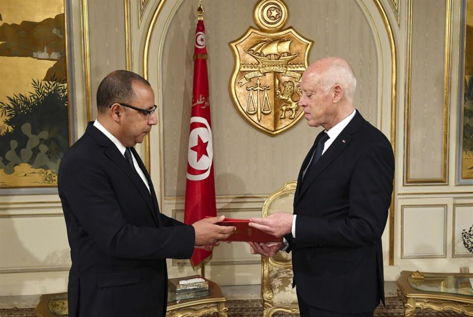 تونس | سعيّد مكلّفاً المشّيشي: تصعيد الصراع مع «النهضة»