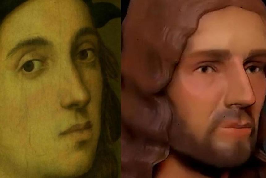 هل عدّل رافاييل شكل أنفه حين رسم نفسه؟