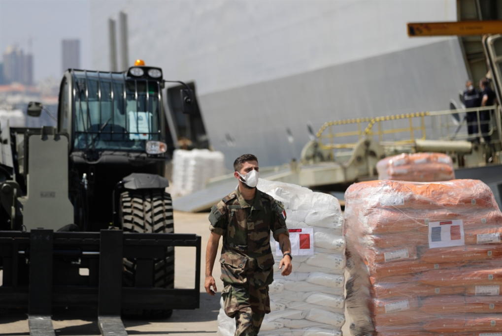 المساعدات لم تقتصر على أوروبا وواشنطن: دول «فقيرة» إلى جانب بيروت