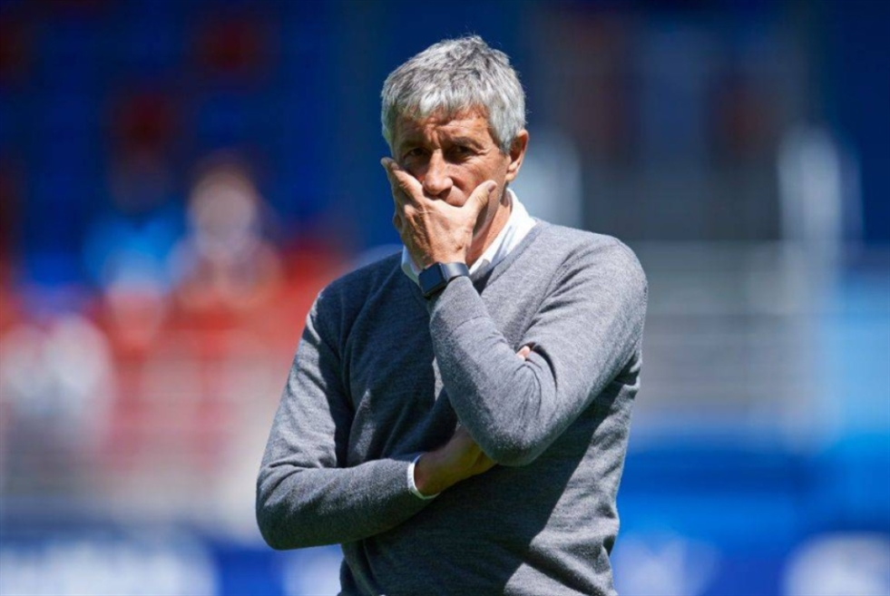 برشلونة يقيل مدربه سيتيين وكومان الابرز لخلافته