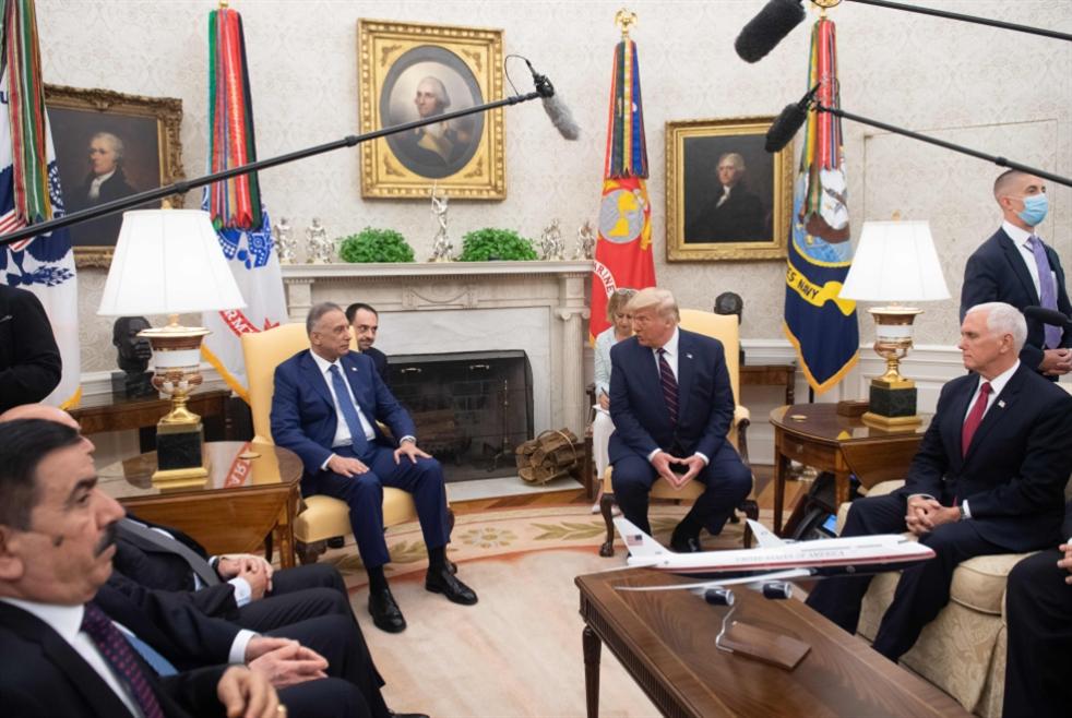 لقاء ترامب - الكاظمي: وعود أميركية في التوقيت الميّت