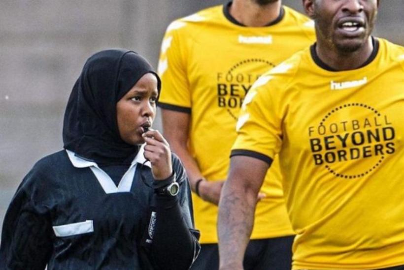 فتاة صومالية محجّبة تصبح أول حكَمة مسلمة في إنكلترا