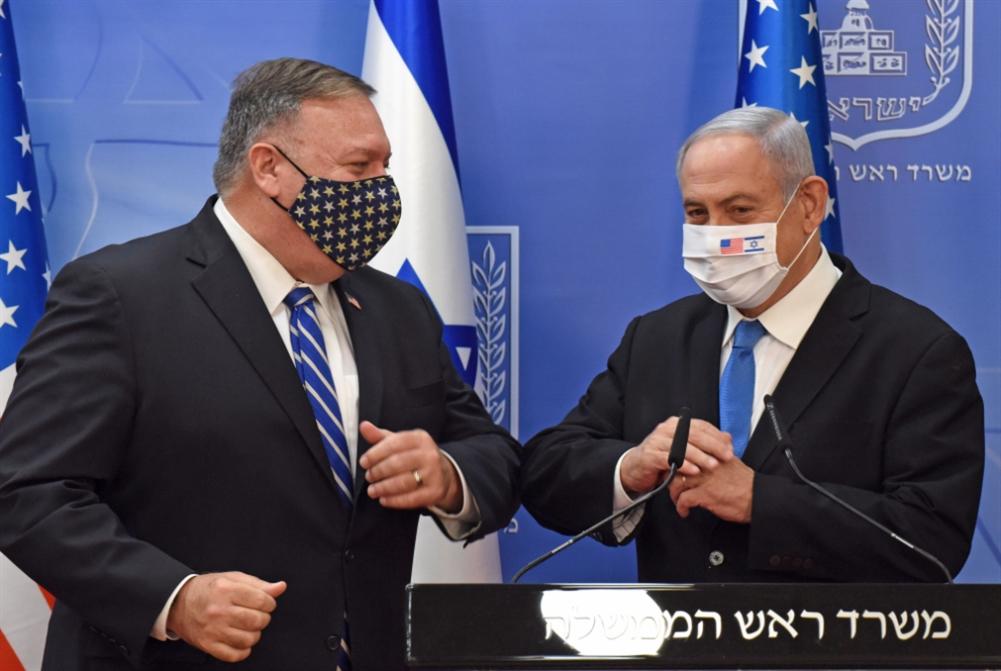 بومبيو يُطمئن إسرائيل إلى «تفوّقها» العسكري