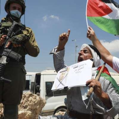 حرب ابن زايد  على فلسطين