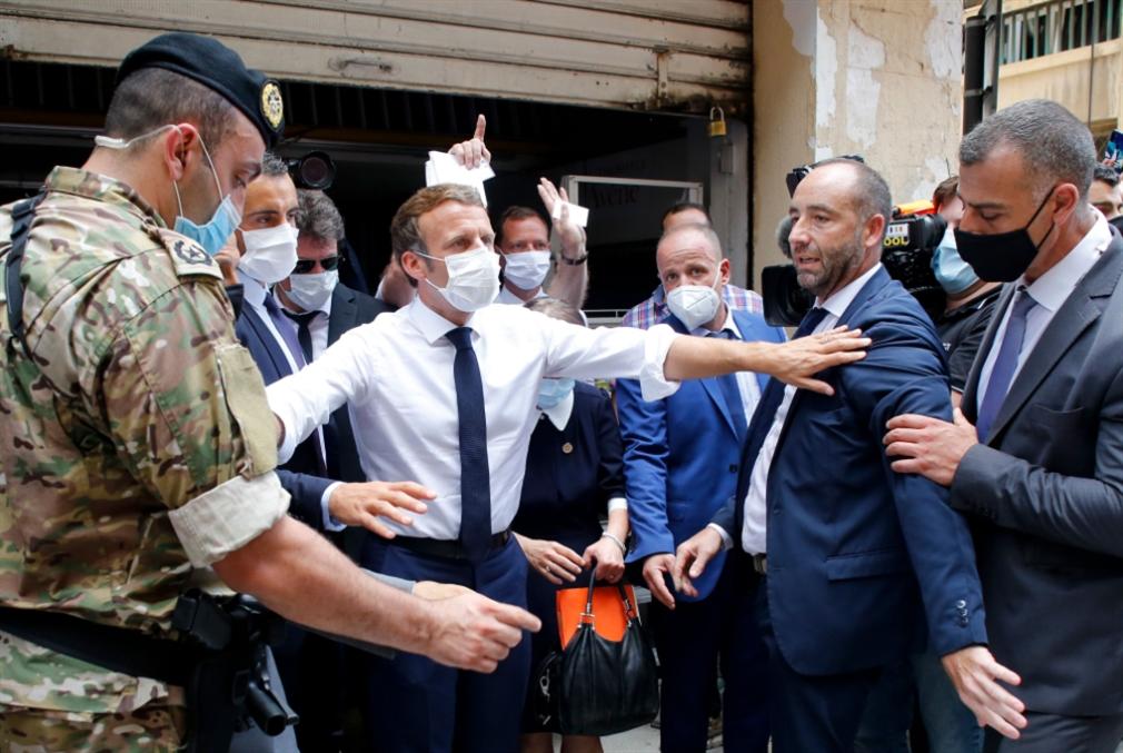«الرئيس السامي» ماكرون: عقد سياسيّ جديد للبنان