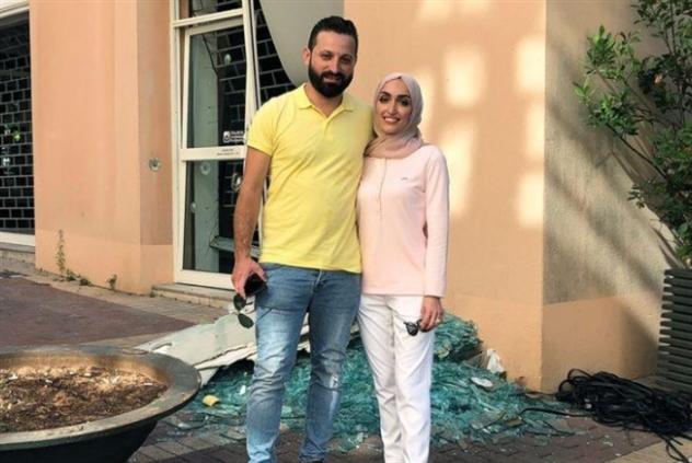 إسراء وأحمد عروسان مع غصّة