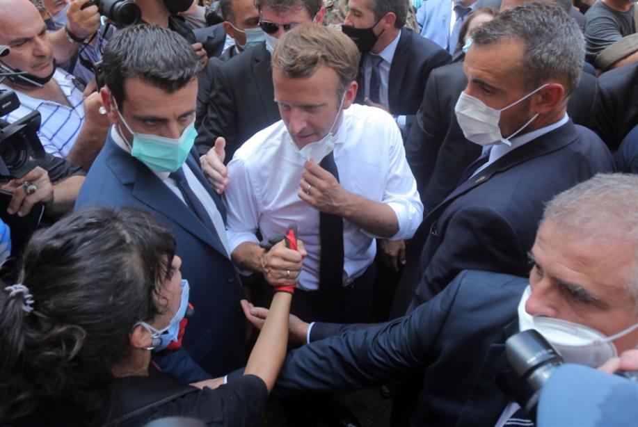 الرئيس الفرنسي، بعد مصطفى أديب، يعتذر عن عدم التأليف: ماكرون يلتحق بواشنطن والرياض