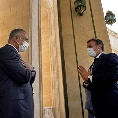 ماكرون في بغداد: تفويض أميركي بمواجهة «ناعمة»؟