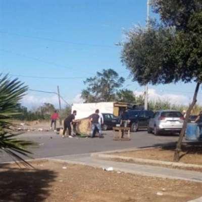 طرابلس: قطع طرقات وإقبال على تموين السّلع