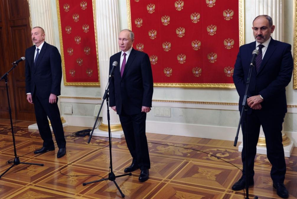 بوتين يُطلق محادثات الحلّ النهائي: أرمينيا وآذربيجان وجهاً لوجه