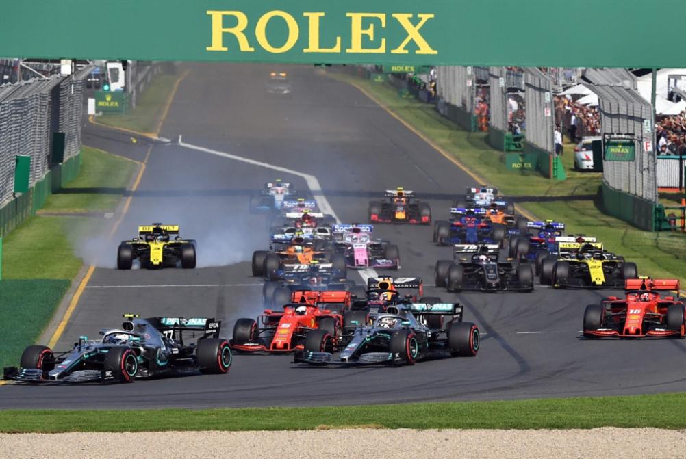 تأجيل جائزتَي أستراليا والصين في الفورمولا 1