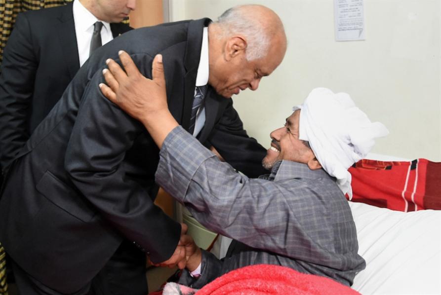 مصر | حنفي الجبالي ينال جائزته: رئاسة البرلمان لقاء «تيران وصنافير»