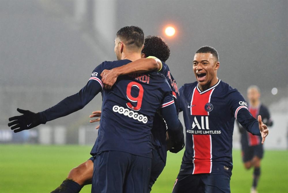 معنويات مرتفعة في باريس بعد الفوز بالكأس