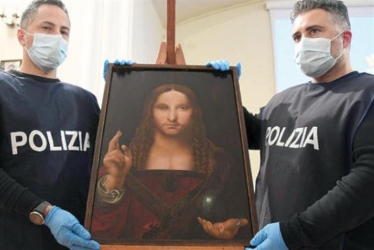 إيطاليا تستعيد نسخة لوحة «المخلّص»
