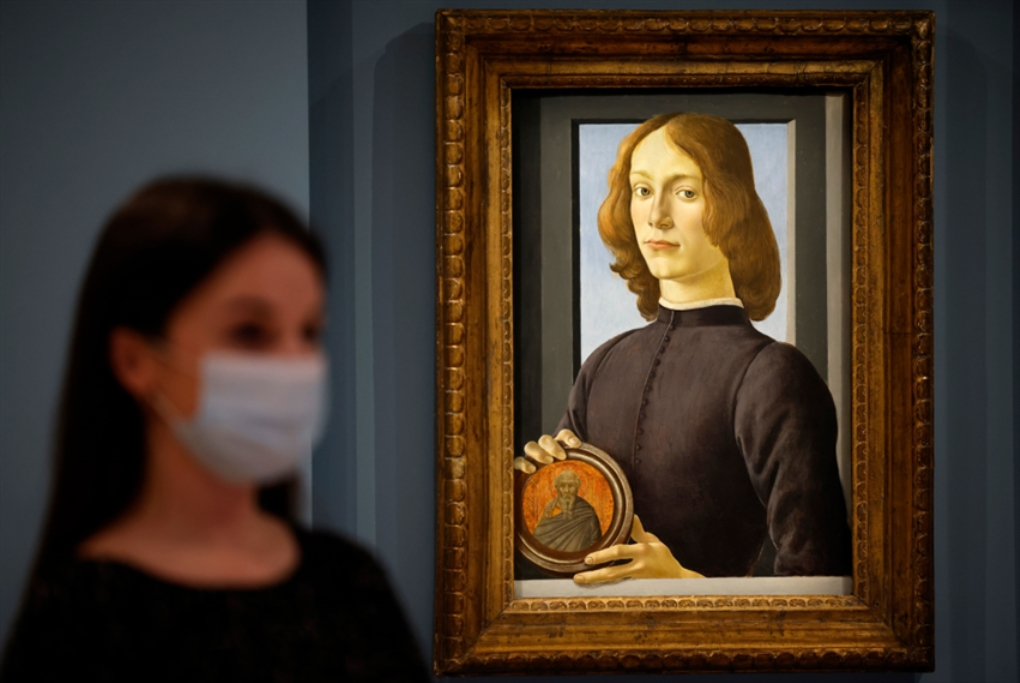 لوحة بوتيتشيلي... 92.2 مليون دولار في «سوذبيز»