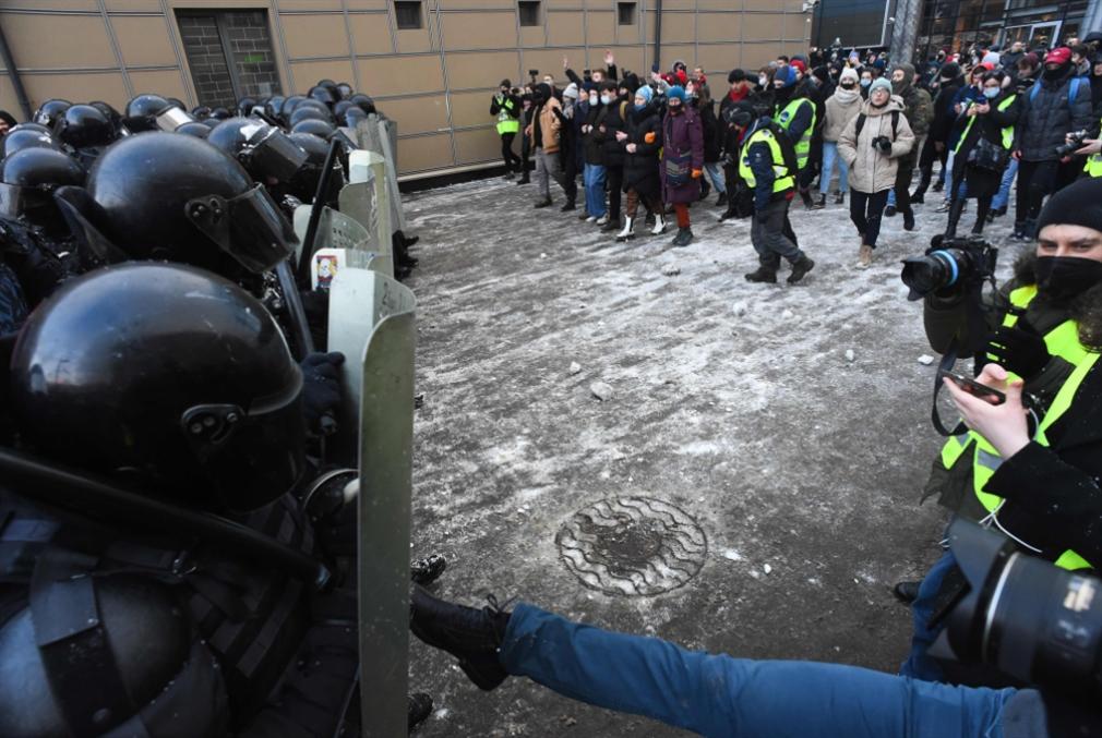 روسيا | واشنطن وبروكسل تقودان «احتجاجات نافالني»