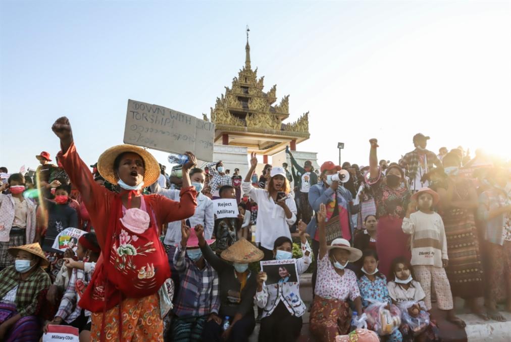 ما بعد انقلاب ميانمار... «فرص» بكين وخسائر واشنطن