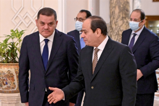 ليبيا | دبيبة ضيفاً على السيسي: استمالة مصرية للحُكم الانتقالي