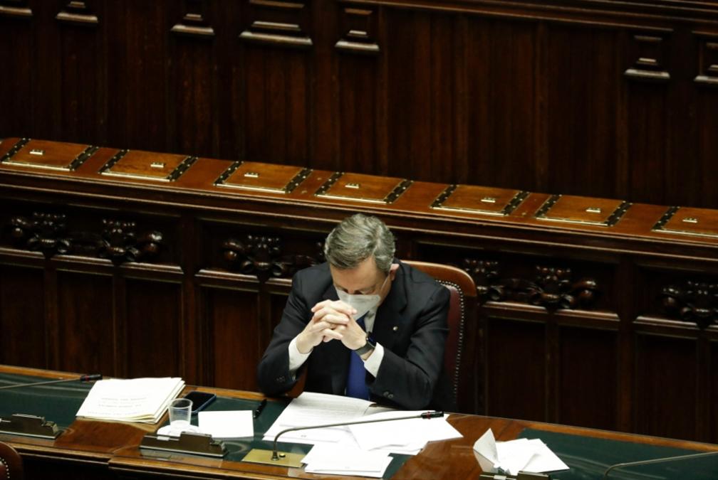 «سوبر ماريو» الإيطالي ينال الثقة: حكومة حربٍ على العمّال