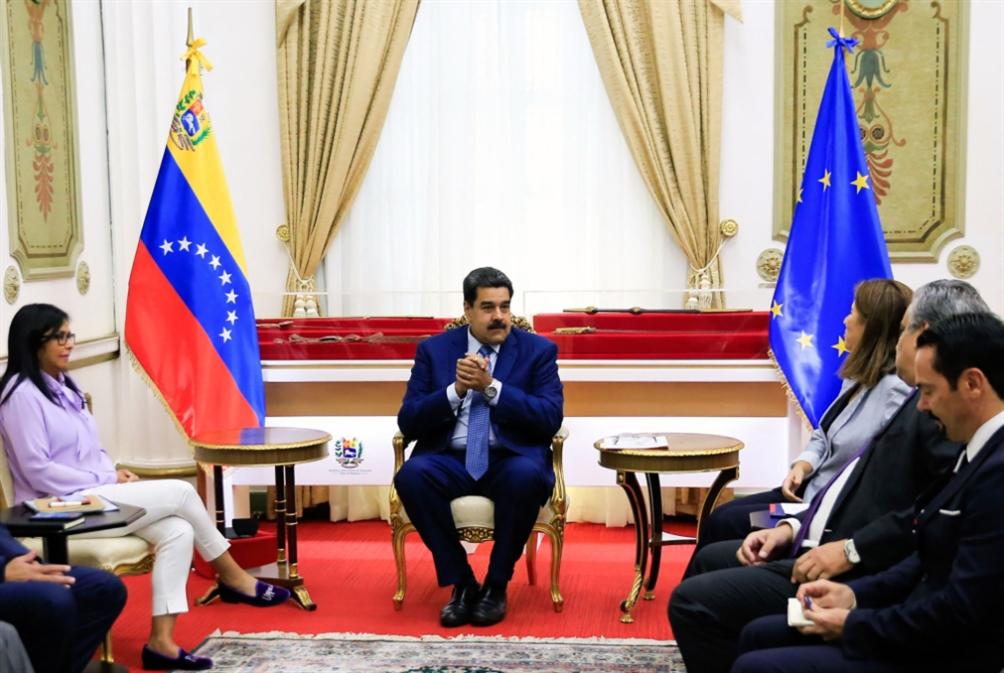فنزويلا تقابِل التصعيد بالمثل: على الأوروبيّين تعلُّم الاحترام