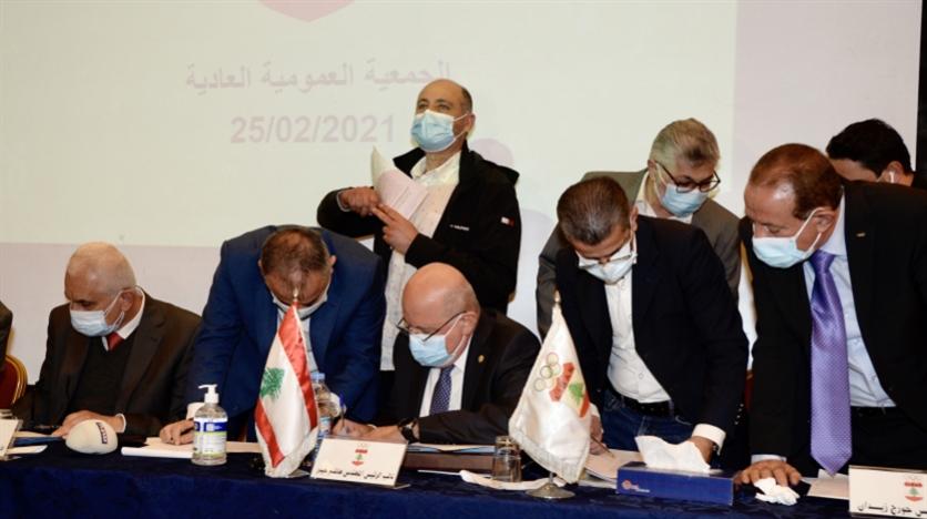 صورة مفاجأة انتخابات اللجنة الأولمبيّة: خسارة جهاد سلامة
